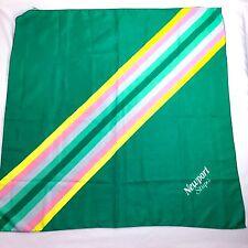 """1988 Newport Stripes Cigarette Promotional 29"""" Scarf Tobacco Tobacciana"""