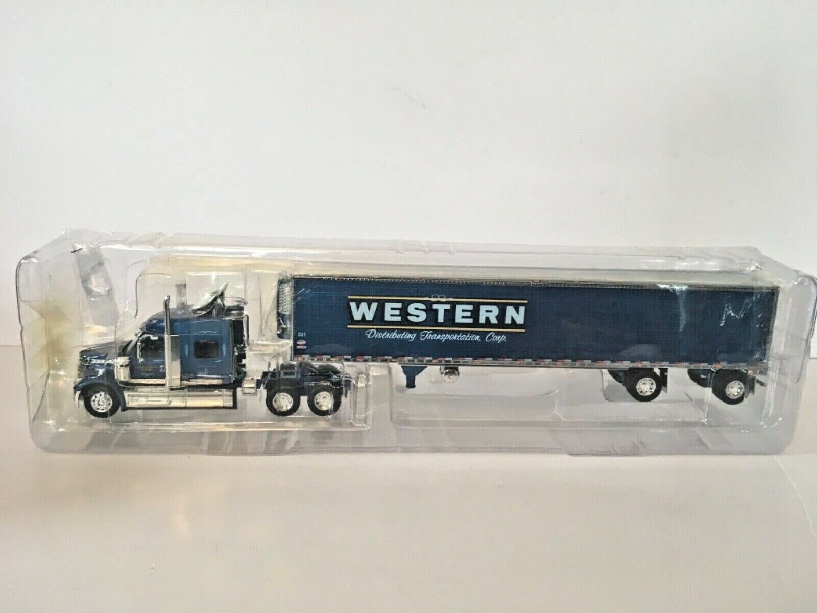 DCP First Gear  32388 Western Distributing Lonestar Cab w Reefer Trailer 1 64th