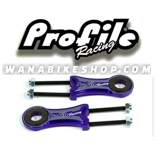 Pair Profile Chain Tensioner 10mm Purple
