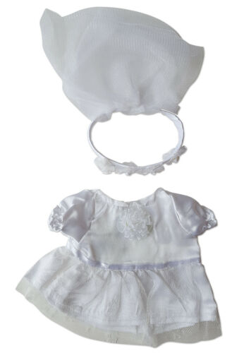 """Bride Outfit Clothing Fits Most 8/""""-10/"""" Webkinz Shining Star and 8/""""-10/"""" Make You"""