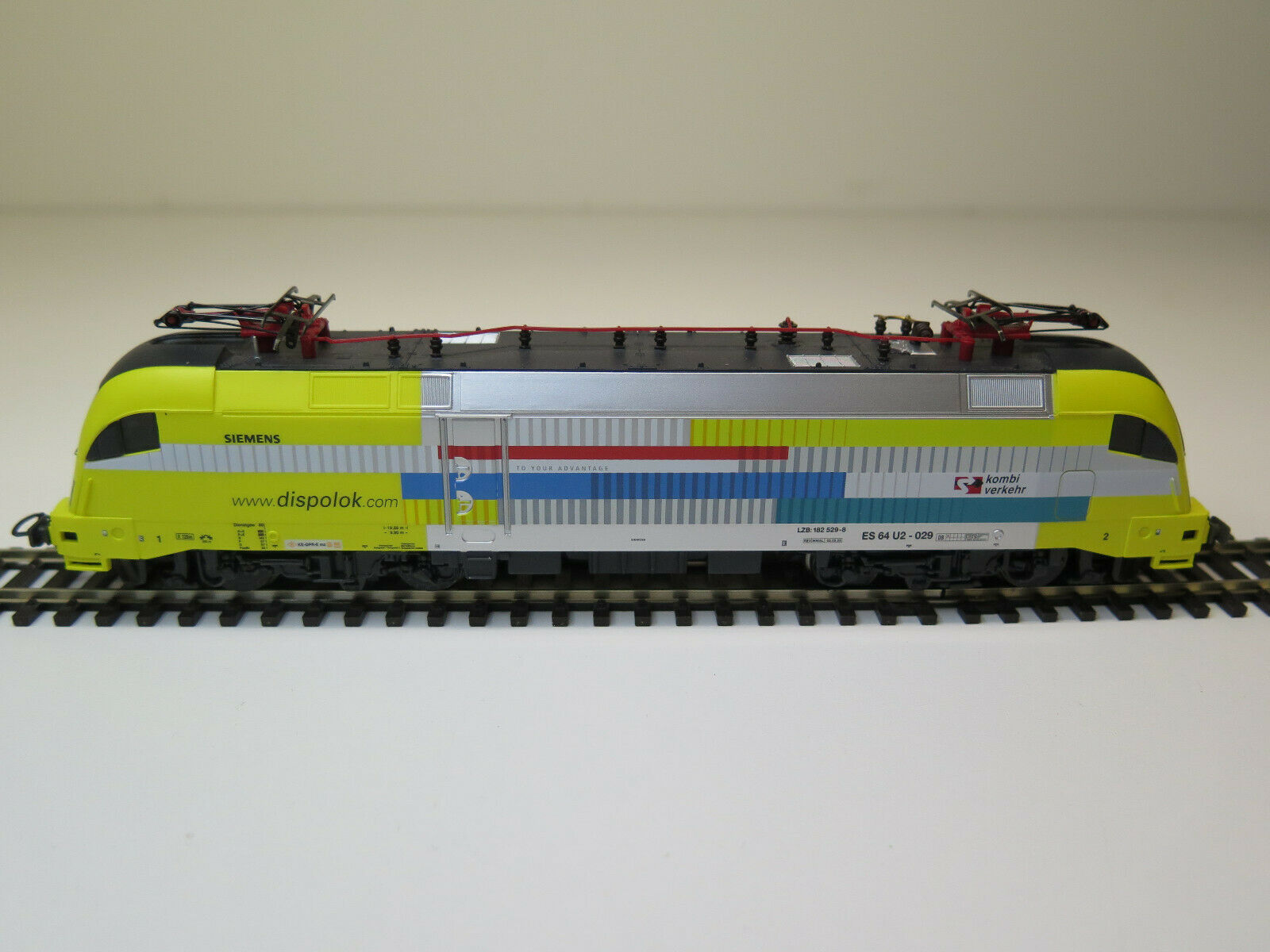 PIKO   pista H0 eléctrico 64 de locomotora Siemens Dispolok U2 - digital     19 42 6