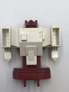 Original G1 Transformers METROPLEX PARTS LOT Robot Body Tower Chest Shield Plate