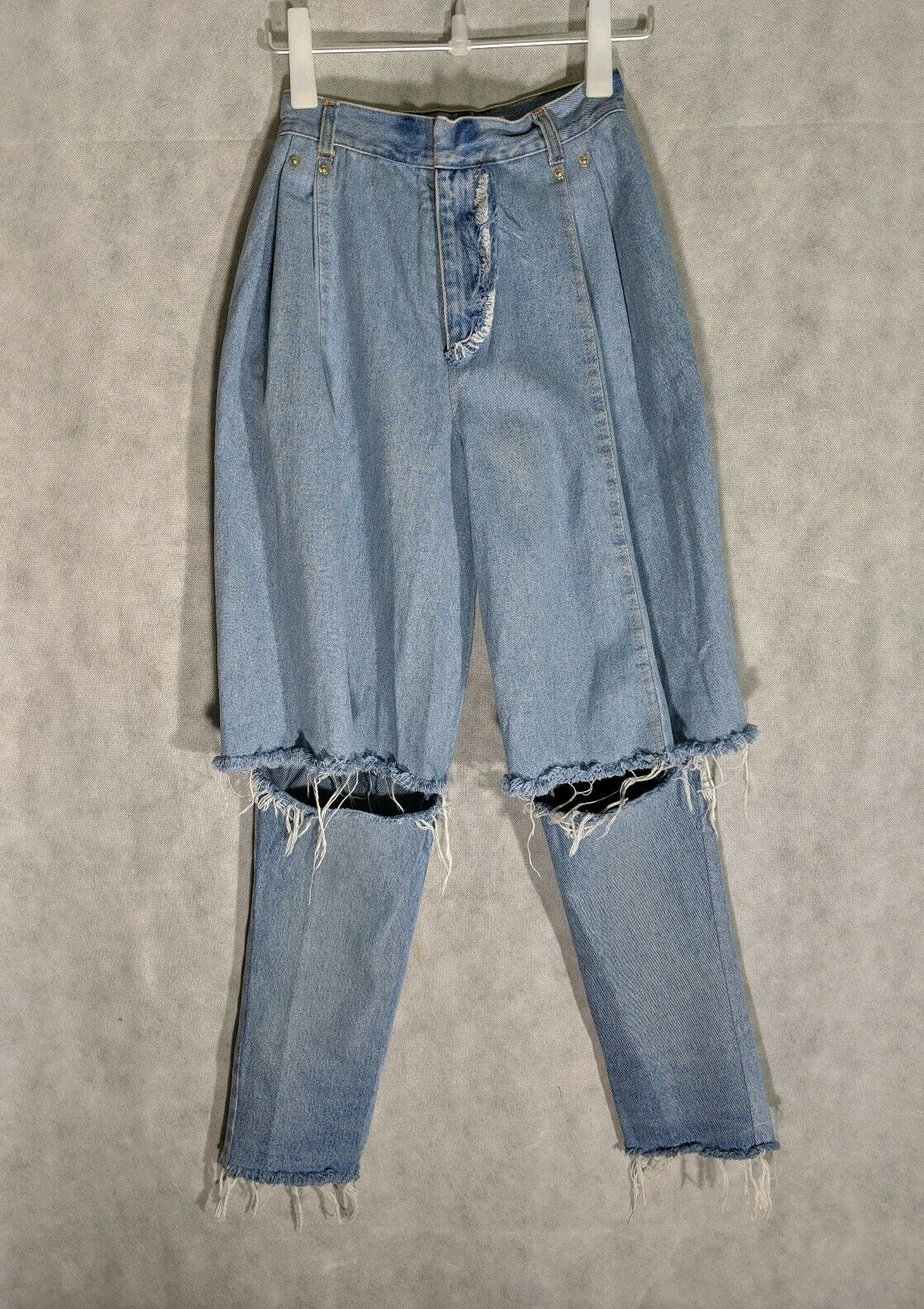 Ksenia Schnaider Demi Slim Jeans Sold Out XS  Light bluee