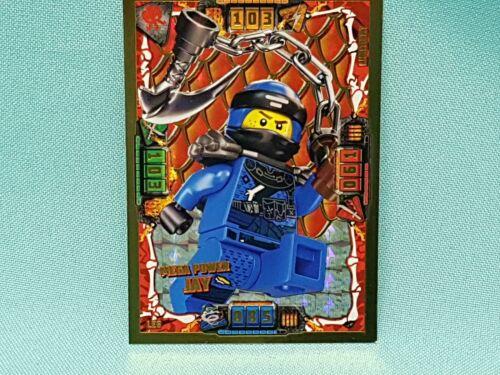 Lego Ninjago série 4 trading card édition limitée le6 Mega Power Jay