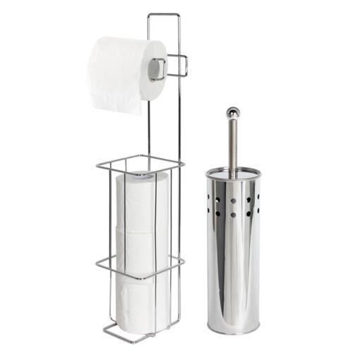 Baignoir Porte-rouleaux de papier toilette et brosse de toilette salle de bains SetIbis