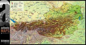 3d Landkarte Osterreich 67 5 X 35 Cm Karte Austria Alpen Ebay