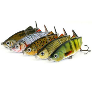 Minnow-Fishing-Lures-Crank-Bait-Hooks-Bass-Crankbaits-Tackle-Sinking-Popper-TR