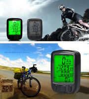 Cycling Bicycle Bike Multi-functions LCD Computer Odometer Speedometer Backlight