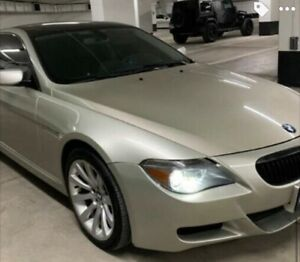 2007 bmw 650i M6 package