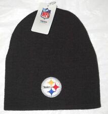 0190f7961cd9f item 2 Pittsburgh Steelers Football Team NFL Black Cuffless Beanie Knit  Skull Cap Hat -Pittsburgh Steelers Football Team NFL Black Cuffless Beanie  Knit ...