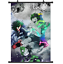 B2605 Boku no hero academia My Hero anime manga Wallscroll Stoffposter 25x35cm