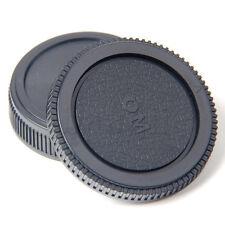 Plastic Set Rear lens Body cap for Olympus Camera OM 4/3 E620 E520 E510 MA