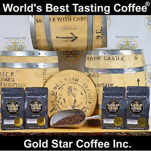 Jamaica-Jamaican-Blue-Mountain-PeaBerry-4-lb-World-039-s-Best-Tasting-Coffee