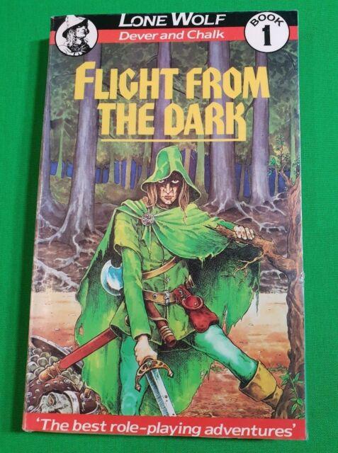 Flight From The Dark ***BEAVER 1st COVER!!*** Joe Dever Lone Wolf