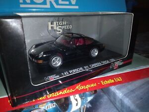 HIGHT-SPEED-1-43-PORSCHE-911-CARRERA-TARGA-1995-NEUF-EN-BOITE