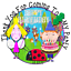 70 x Ben and Holly party stickers 37mm cone labels favours birthday kids parties