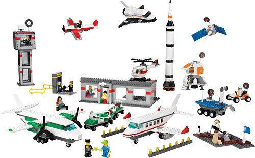 Nuevo Lego Dacta Town 9335 espacio & aeropuerto Sellado