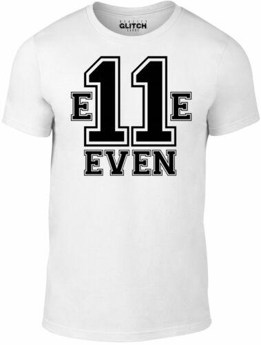 Men/'s E11even T-Shirt Inspired by Netflix TV Hawkins