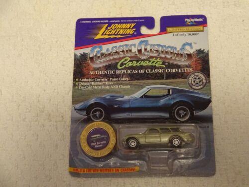 Johnny Lightning Classic Customs Corvette 1954 Corvette Nomad Green