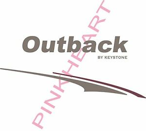 Details about outback by keystone graphics keystone outback stickers camper  rv trailer decals