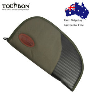 Tourbon-Pistol-Soft-Padded-Rug-Rugger-Case-Hand-Gun-Storage-Bag-Hunting-AU-POST
