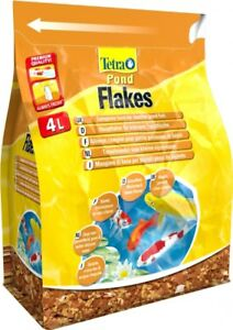 Tetra-Pond-Fish-Flake-4L-800g-Complete-Food-For-Young-amp-Small-Pond-Fish