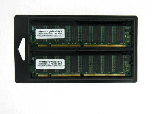 MEMORY 32X64 168  PIN PC133 6NS 3.3V NON ECC SDRAM RAM DIMM 2X256MB 512MB