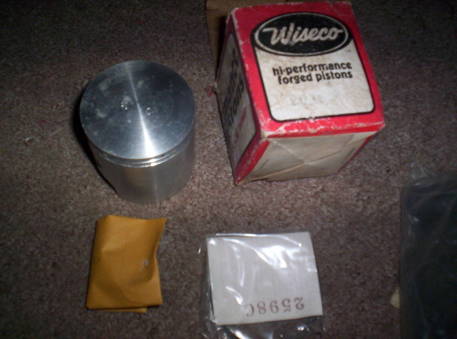 Vintage Snowmobile CCW John Deere 400 2 Twin  Cylinder +.040 Wiseco Piston 2013P4  latest styles