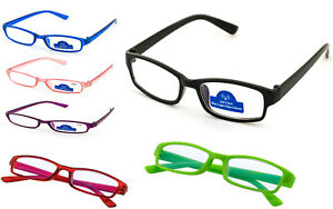 8b05bbc6fd Reading Glasses 0.0 to 4.00 Unisex Mens Ladies Designer Fashion Slim ...