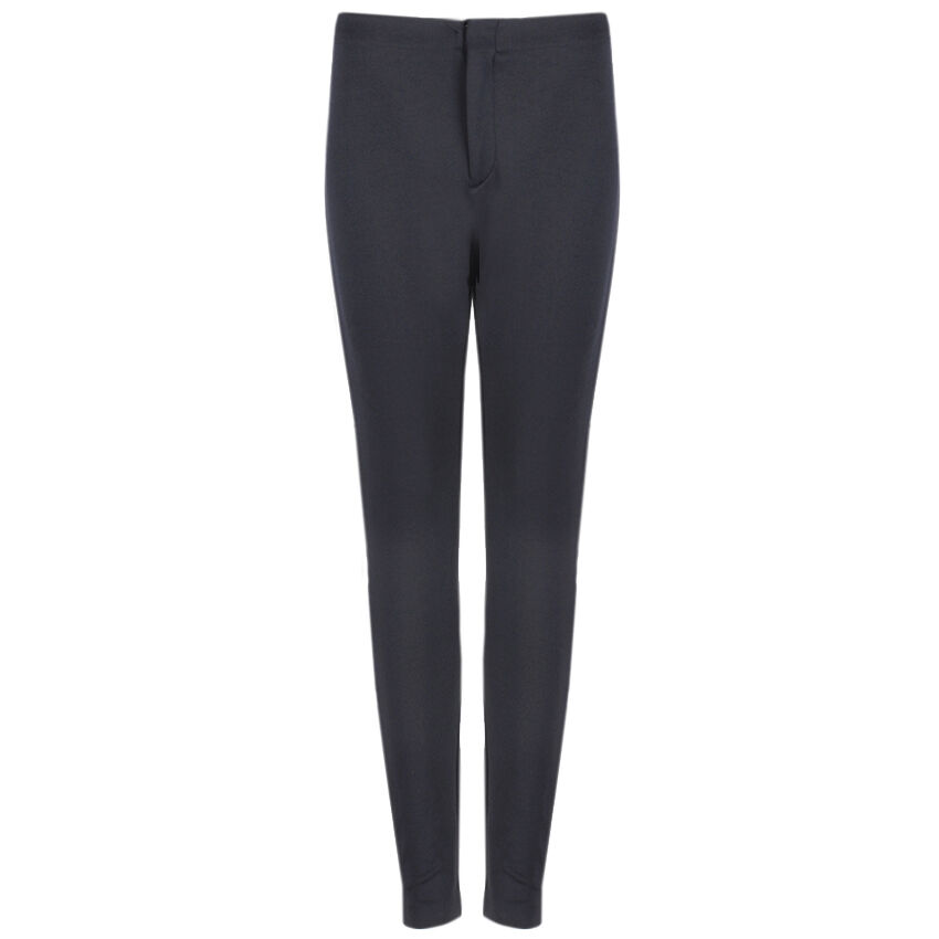 Alexander Mcqueen Noir Skinny-montage Panneau Construire Pantalon Pantalon It46 W30