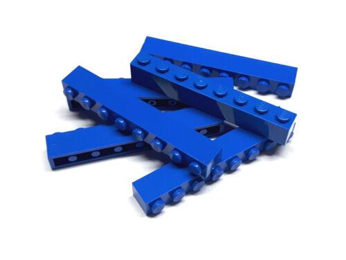 300823 LEGO BASIC pierres Brick 1 x 8 Bleu 6 pièces