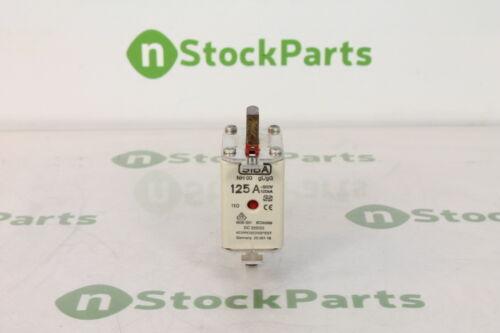 SIBA NH00-125A-GG-500 2000113.125 NSNB FUSE 125 AMPS 500 VOLTS