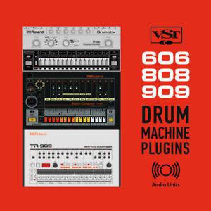808 Drum Machine Vst Mac : 606 808 909 classic drum machine plugins au vst macos mac osx logic pro ebay ~ Russianpoet.info Haus und Dekorationen