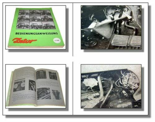 Zetor 5211-7745 Schlepper Bedienungsanleitung 1988 Betriebsanleitung