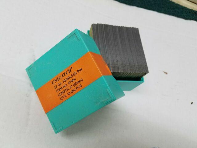 UNICATCH P6//38L 10,000 per box 23 Gauge 1-1//2-Inch Length Headless Pins