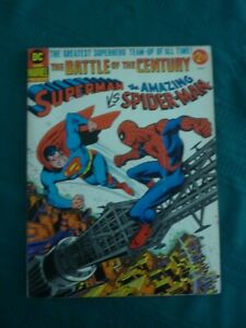 Superman-vs-Spider-Man-Treasury-VG-FN-5-0-Off-White-Pages