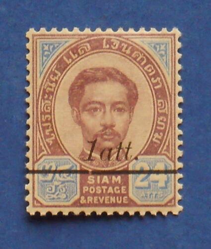 1907 THAILAND 1 ATT SCOTT# 109 MICHEL.# 64 UNUSED CS17606