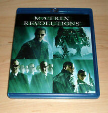 Blu Ray Film - Matrix Revolutions - Keanu Reeves