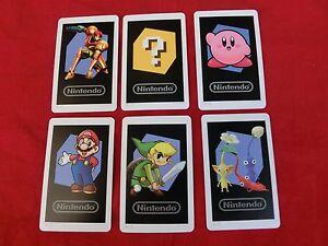 Nintendo-2DS-3DS-original-AR-Karten-AR-Cards-6-Stueck