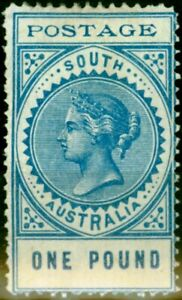 South-Australia-1902-1-Blue-SG279-Fine-Mtd-Mint