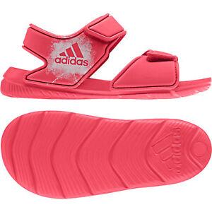 outlet store 78b3c 1f837 La imagen se está cargando Adidas-Chica-LIFESTYLE-altaswim-Piscina -Sandalias-Playa-Tira-