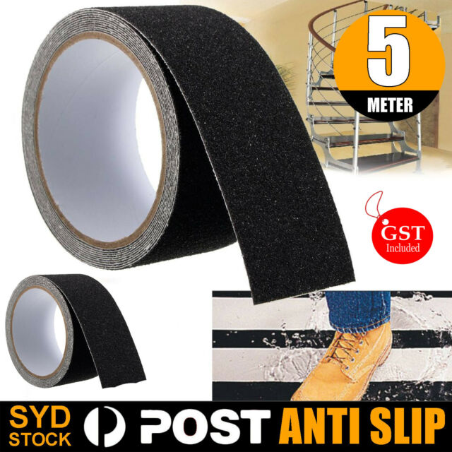 5M 10cm Anti Slip Tape Non Slip High Grip Adhesive Backed Safety Flooring Sticky