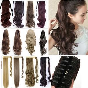 UK-drawstring-clip-In-ponytail-hair-extension-pony-tail-wrap-around-as-human-tfs