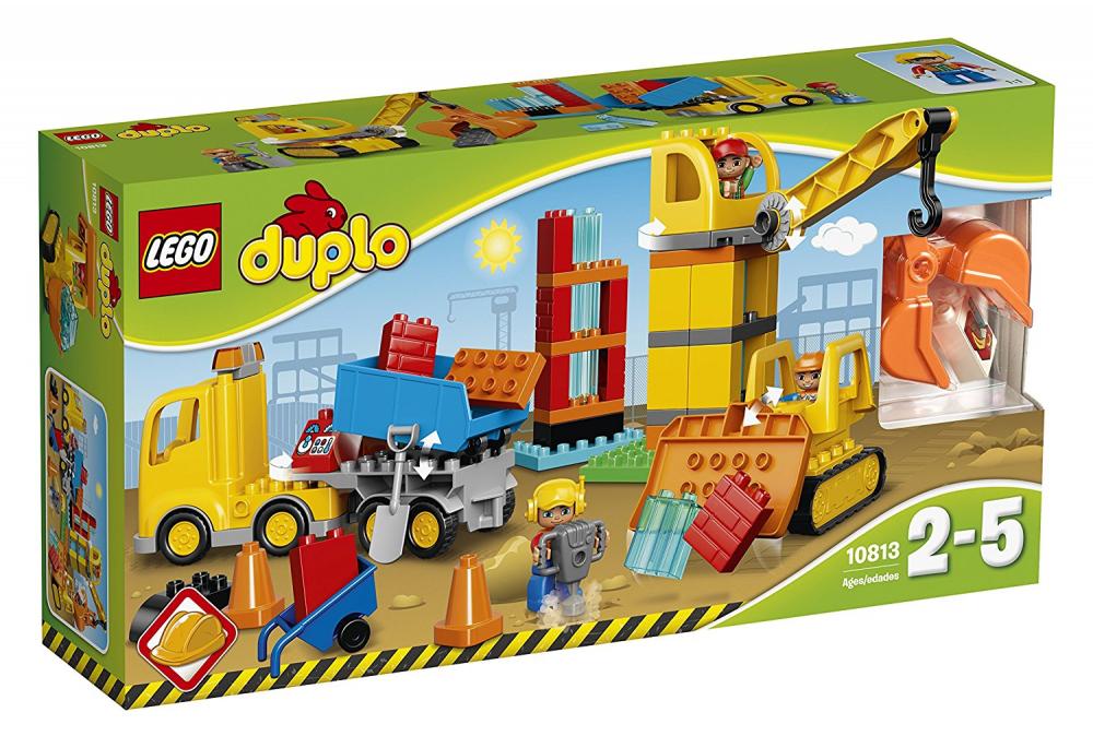 negozio fa acquisti e vendite LEGO DUPLO 10813 Gree Cantiere Bulldozer Camion Ribaltabile Ribaltabile Ribaltabile e Gru nuovo  sport caldi