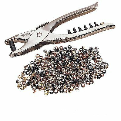 Draper 210mm Hole Punch & Eyelet Pliers & Die Head for Leather Belts etc