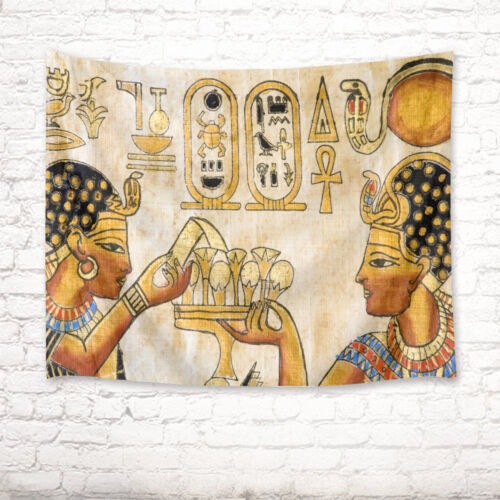 Ancient Egyptian Nobility Tapestry Wall Hanging Living Room Bedroom Dorm Decor