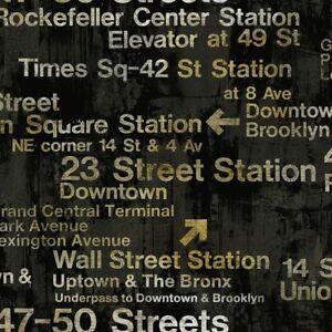 Wallpaper-Designer-Modern-New-York-Train-Station-Subway-Street-Signs-on-Black