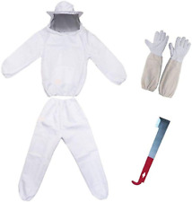Pollibee Bee Suit For Men With Glove And Bee Hive Toolbeekeeping Smock Protecti
