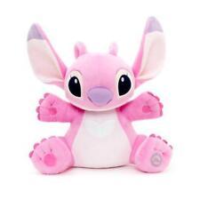 NUOVO Ufficiale Disney Lilo & Stitch 33 cm Medium Pink Angel Soft Giocattolo Peluche