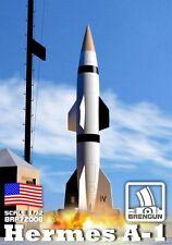 Brengun 1/72 Model Kit 72008 Hermes A1 rocket